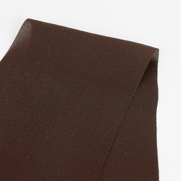 Silk Double Georgette - Chocolate