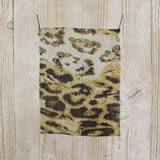 Wild Animal Print Silk Georgette - buy online at The Fabric Store