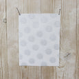 Poly / Cotton Silver Spot Jacquard - Ivory - buy online at The Fabric Store