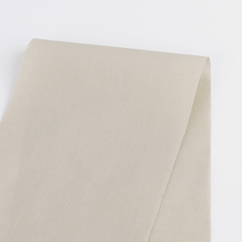 Soft Cotton Voile - Ecru - buy online at The Fabric Store
