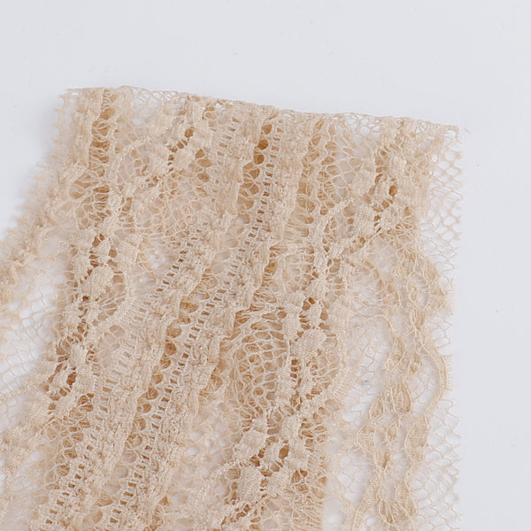 Soft Stretch Lace / Trim - Latte