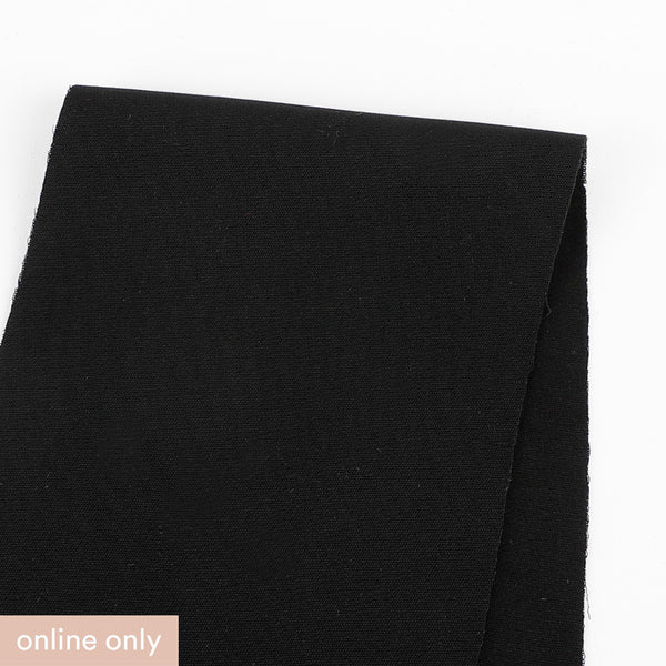 Soft Touch Suiting - Black