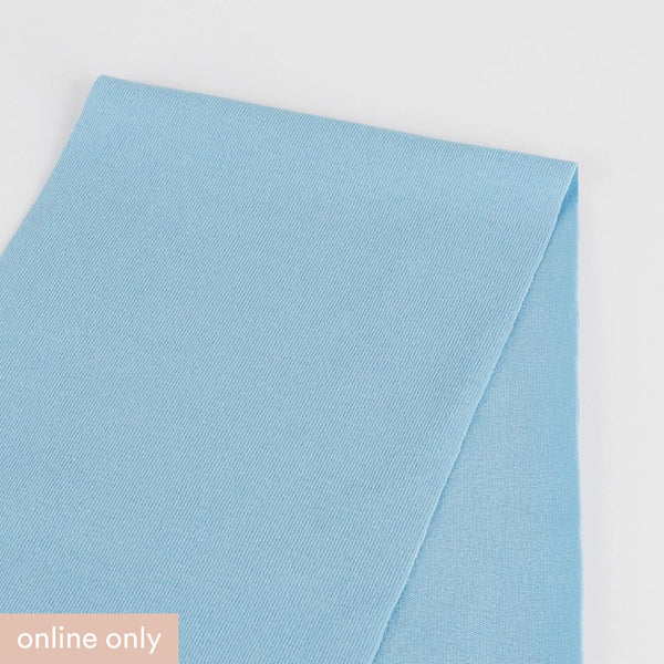 Stretch Cotton Jersey - Day Blue