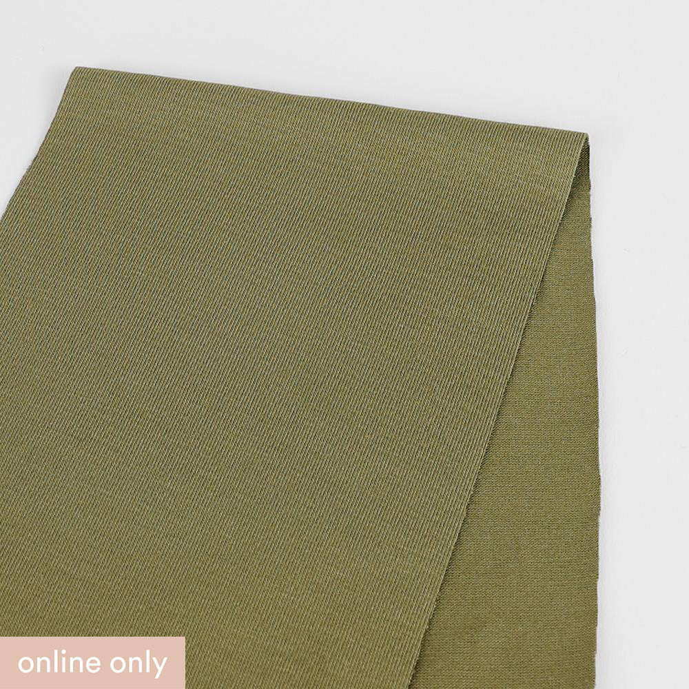 Stretch Viscose Jersey - Army