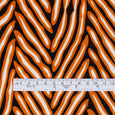 Painted Herringbone Stretch Mesh - Pumpkin