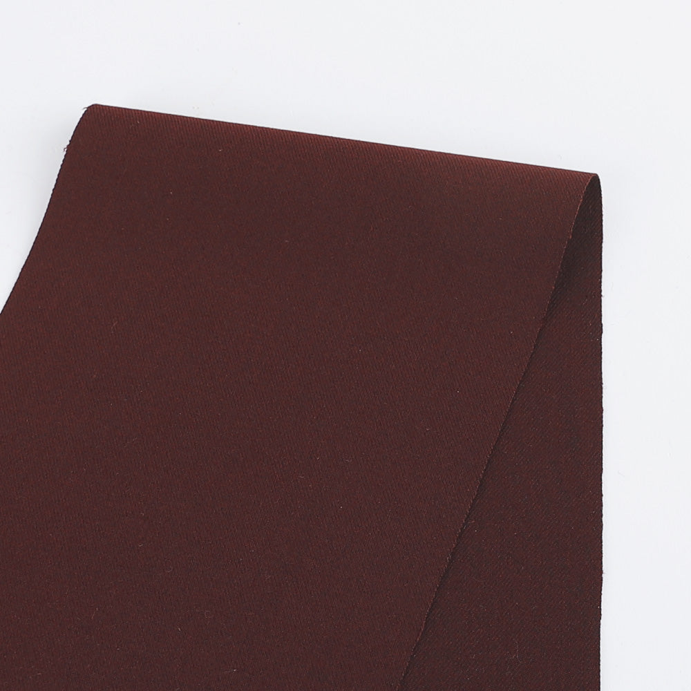 Stretch Twill Suiting - Port - Buy online at The Fabric Store