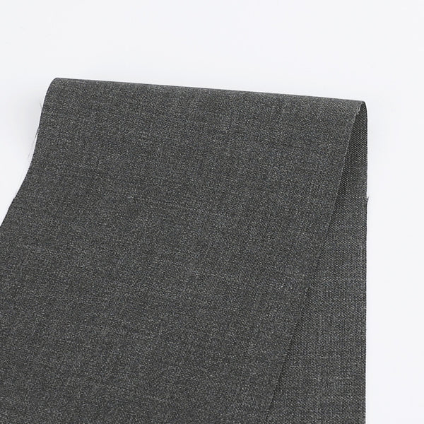 Stretch Wool Suiting - Iron Marle - buy online at The Fabric Store