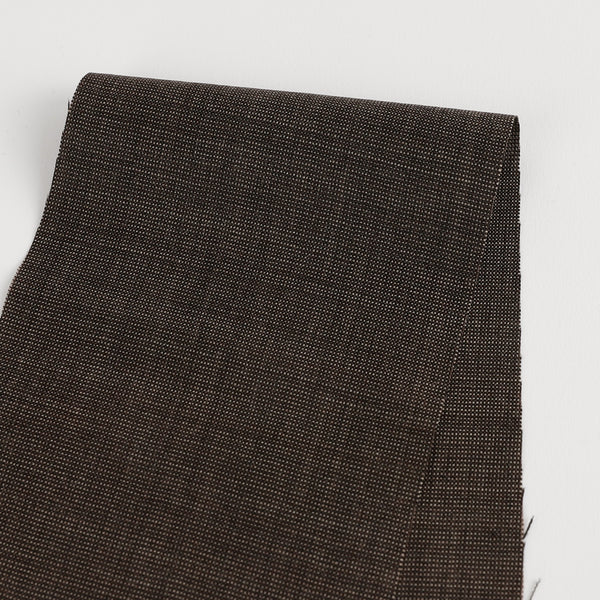 Stretch Wool Suiting - Wenge