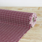 Textured Cotton Weave - Burgundy - buy online at The Fabric Store