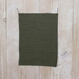 Textured Stripe Merino Blend Jersey - Army - buy online at The Fabric Store