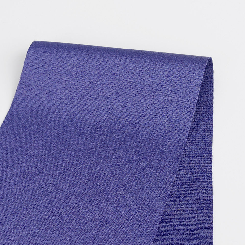 Triacetate Satin - Sapphire - Buy online at The Fabric Store