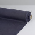 Heavyweight Tumbled Linen - Paynes Grey