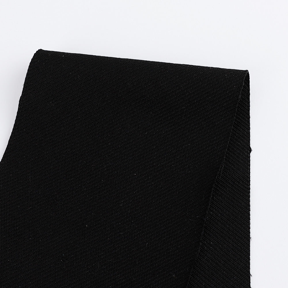 Twill Ponte Knit - Black - buy online at The Fabric Store