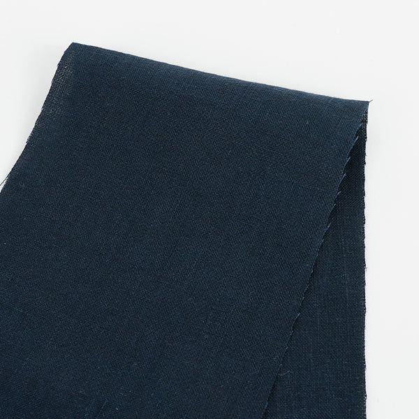Vintage Finish Linen - Navy