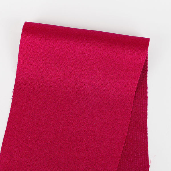 Viscose Satin Backed Crepe - Raspberry