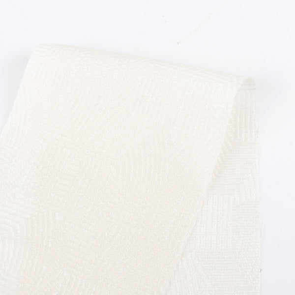 Deco Embossed Silk - Cream