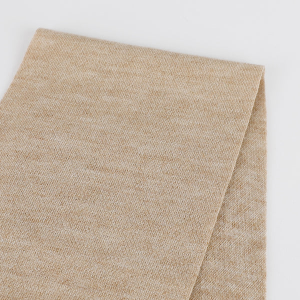 Wool Blend Interlock - Camel