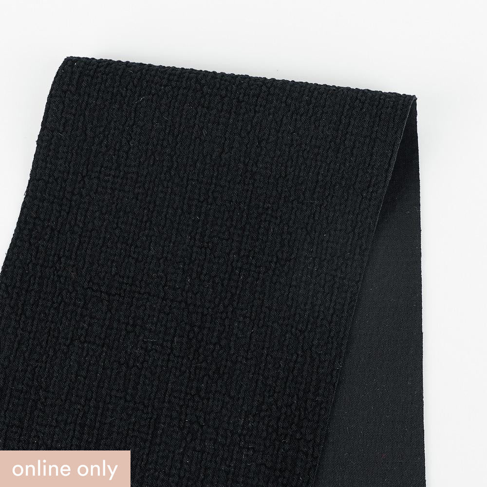 Mottled Suiting - Black