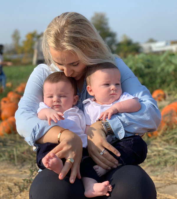 Founder's Feature: Fall fun at the pumpkin patch