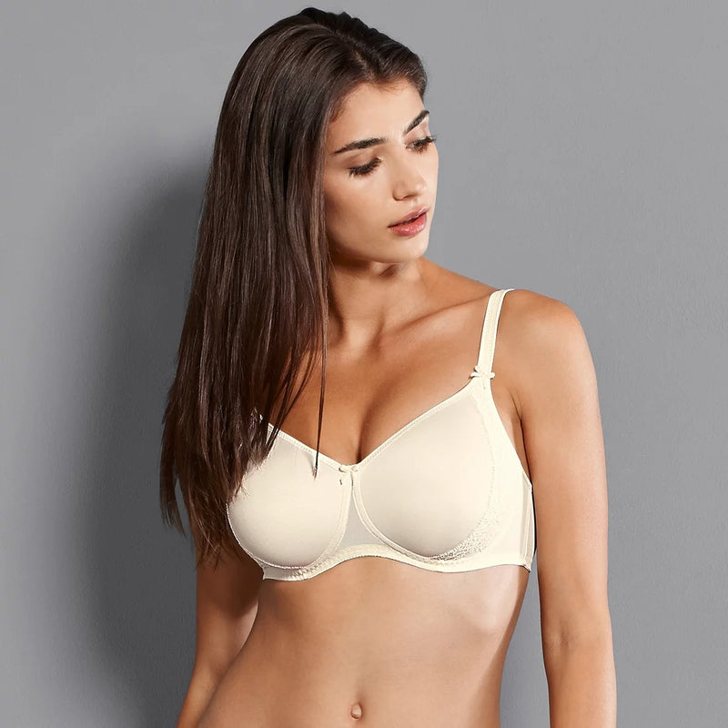 Rosa Faia Lace Rose Wireless Contour Bra (Champagne)