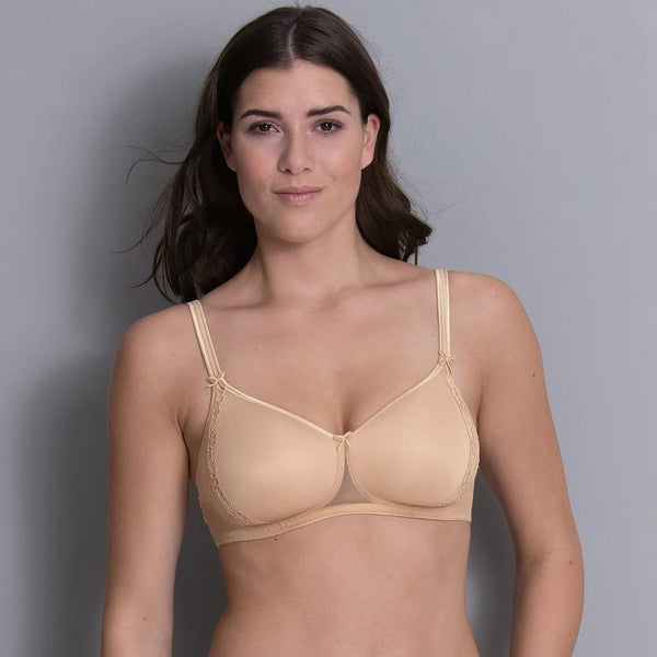 Rosa Faia Lace Rose Wireless Contour Bra (Desert)