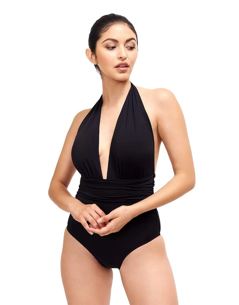 Sauipe Swim Eva Black, White, Terracotta