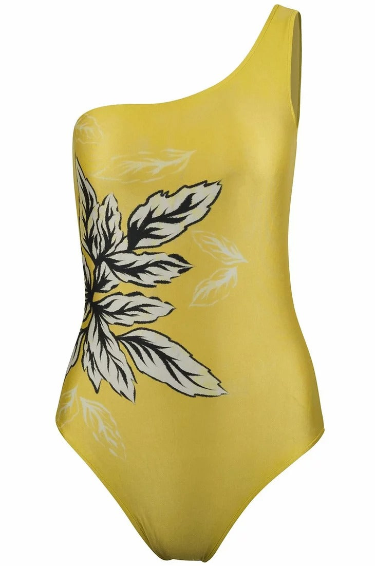 Sauipe Swim Becky One Shoulder Spring