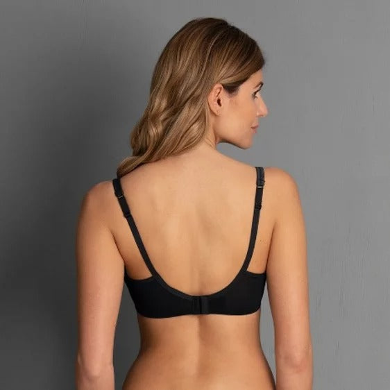 Rosa Faia Fleur Wireless Contour Bra (Anthracite)