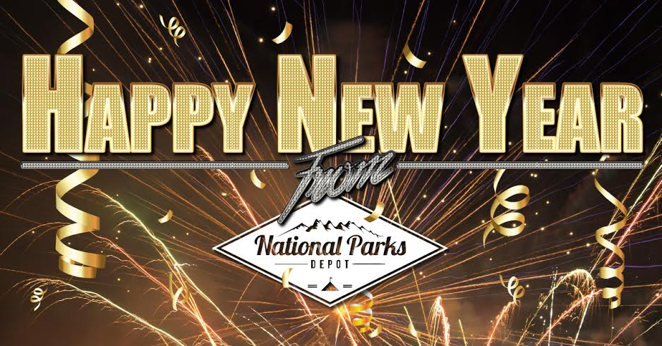 Happy New Year From National Parks Depot
