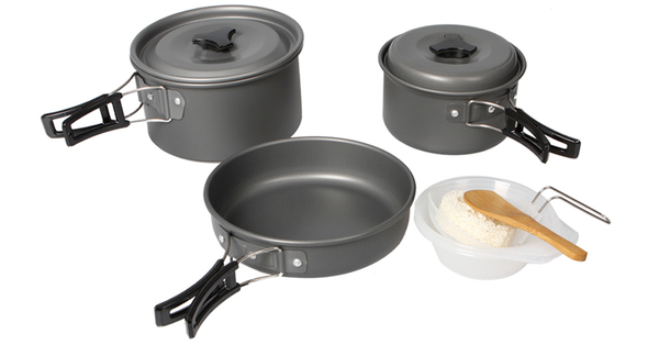 8-pc Outdoor Cooking Set, from National Parks Depot