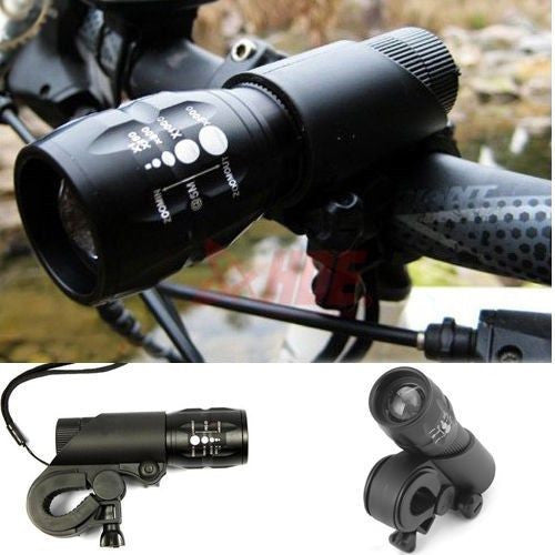 Cycling  LED Front Head Light with Mount