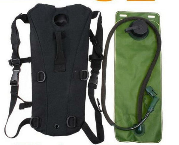 Water Bladder And Black Pouch