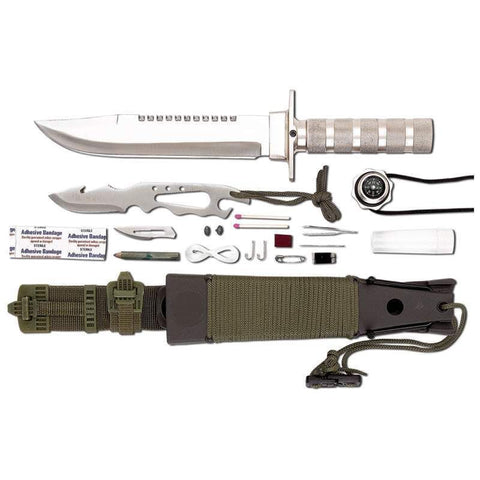 12pc Tactical Combat Survival Knife