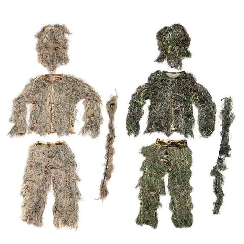 Ghillie Suit with Rifle Cover