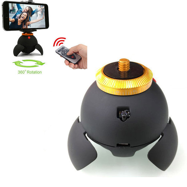 Remote Controlled 360° Rotating Panorama Tripod for Bluetooth Smart Devices
