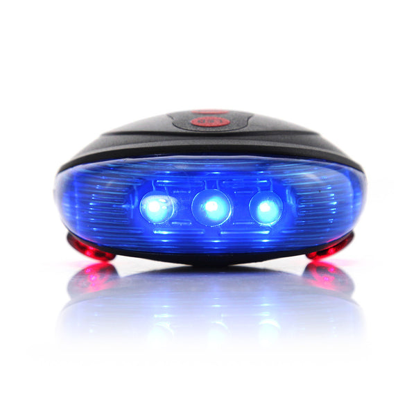 5 LED with 2 Laser Cycling Rear light