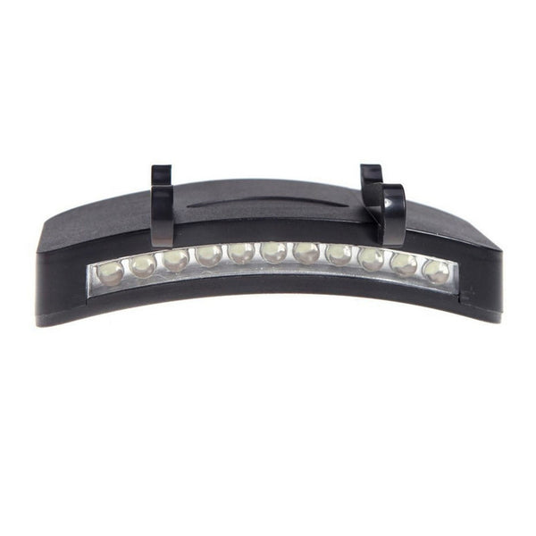 11 LED Clip-On Hat Headlamp