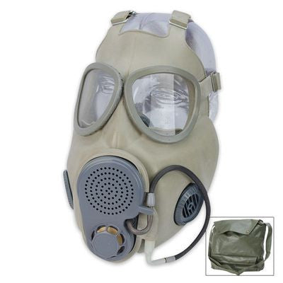 Gas Mask With Filter & Drinking Tube