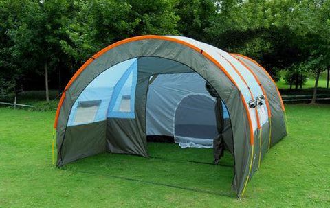 Large 8 Person Tunnel Tent Outdoor Waterproof Family Tent