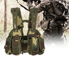 Tactical Hunting Vest With Multiple Pouches and Molle Compatible Straps