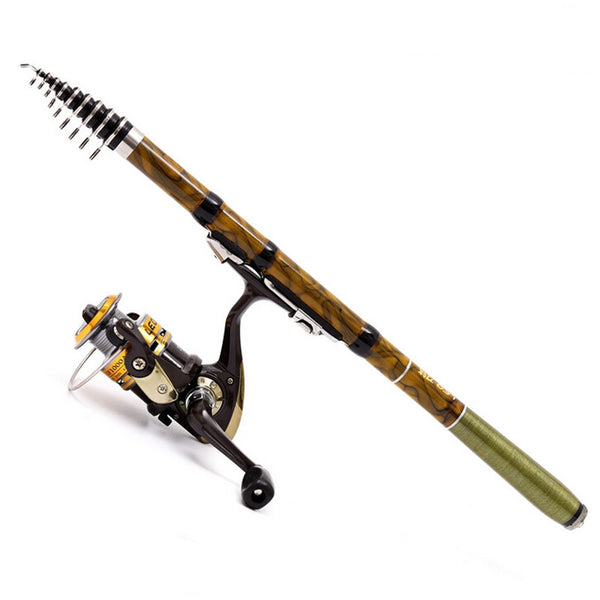 High Quality Super Hard Carbon Fiber Telescopic Fishing Rod
