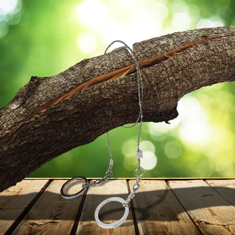 Emergency Survival Gear Steel Wire Saw
