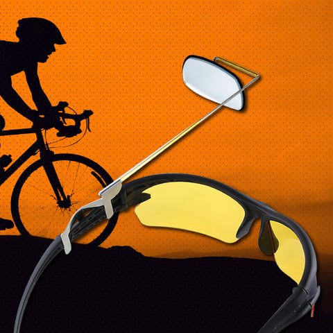 Cycling Sunglass + Rear View Mirror Eyeglass Bundle!