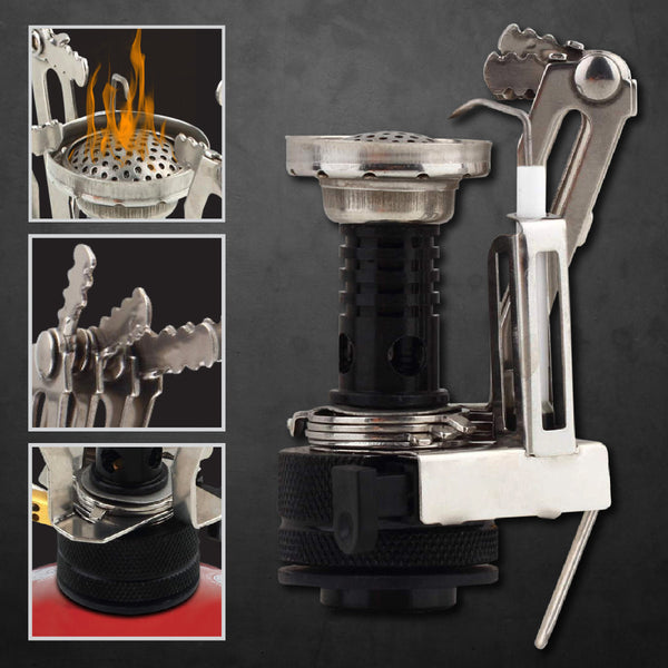 Ultralight Backpacking Canister Camp Stove
