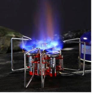 High Quality Aluminum Portable Gas Stove (triple-burner)