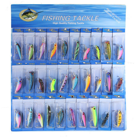 30 Piece Fishing Lure Set