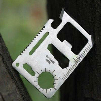 Credit Card 11-in-1 Survival Tool