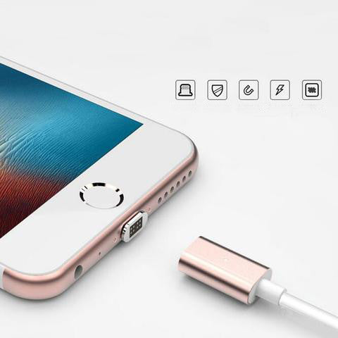 High Speed Magnetic Micro USB Data Sync Charger Cable for iPhone, Samsung, LG, Android and more