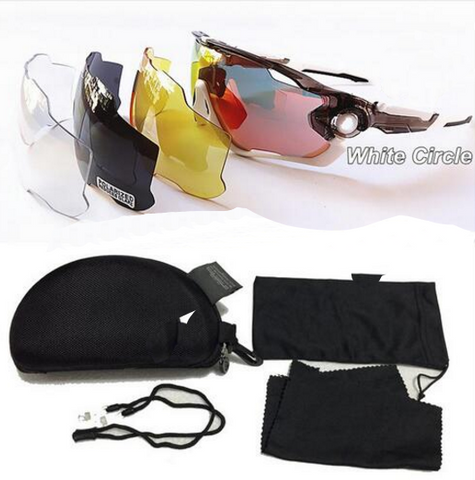 UV400 Sun Glasses Outdoor Sport Eyewear + 4 Lens