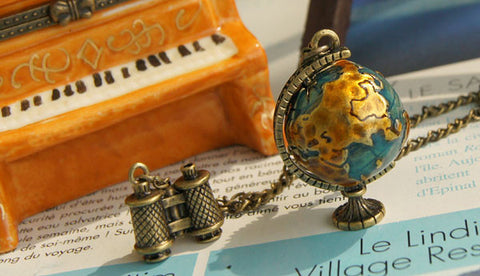Vintage Traveler's Necklace